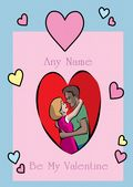 Add A Name Valentine-Couple In A Heart